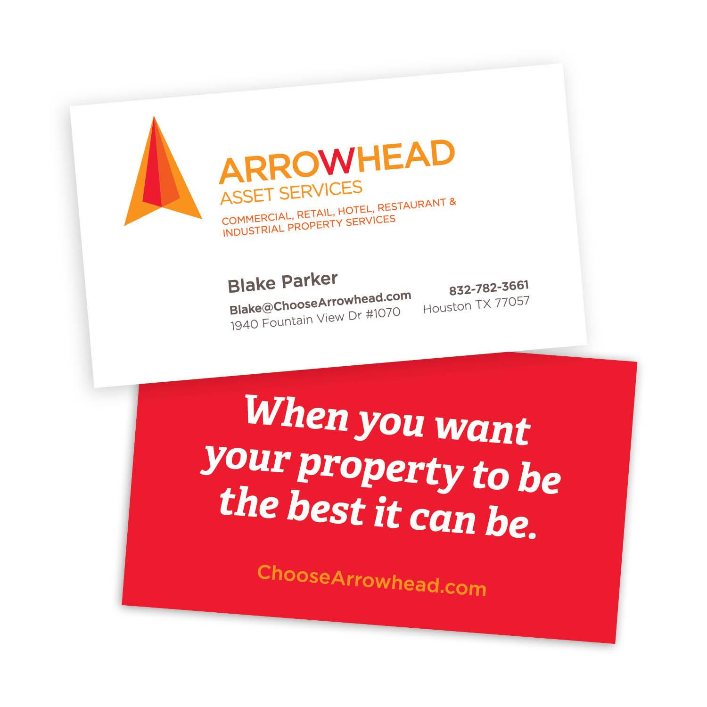 arrowhead business cards