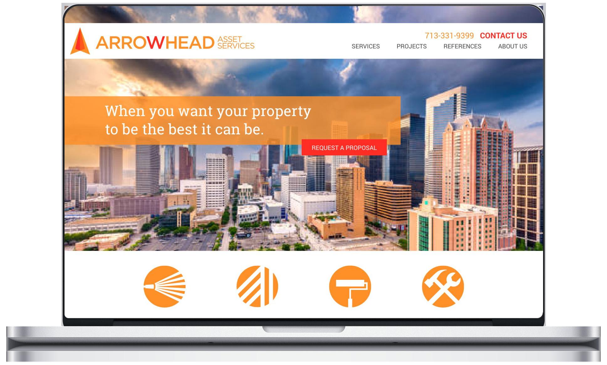 arrowhead website