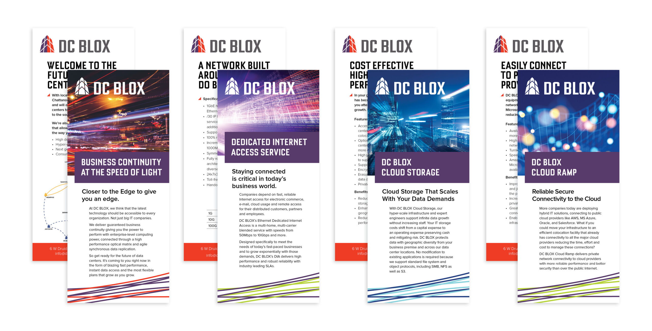 DCB browser cards collateral