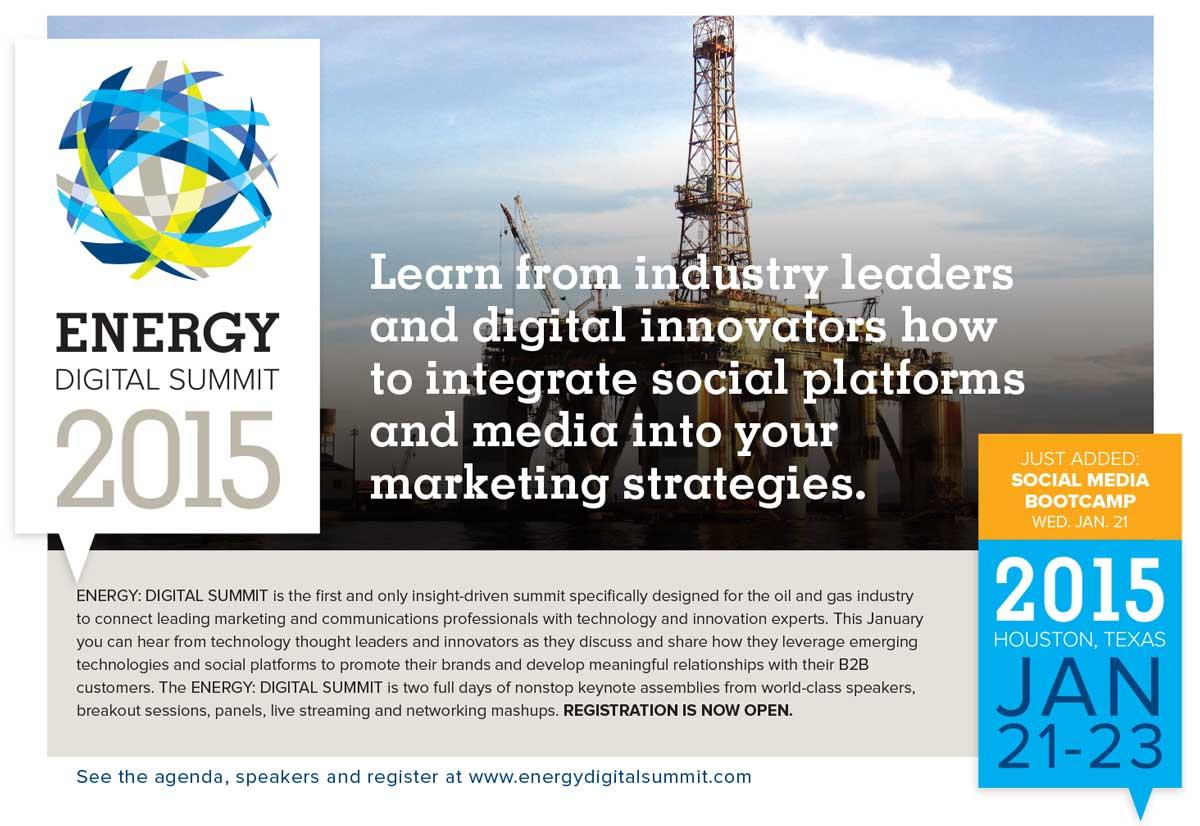 Energy Digital Summit half page ad