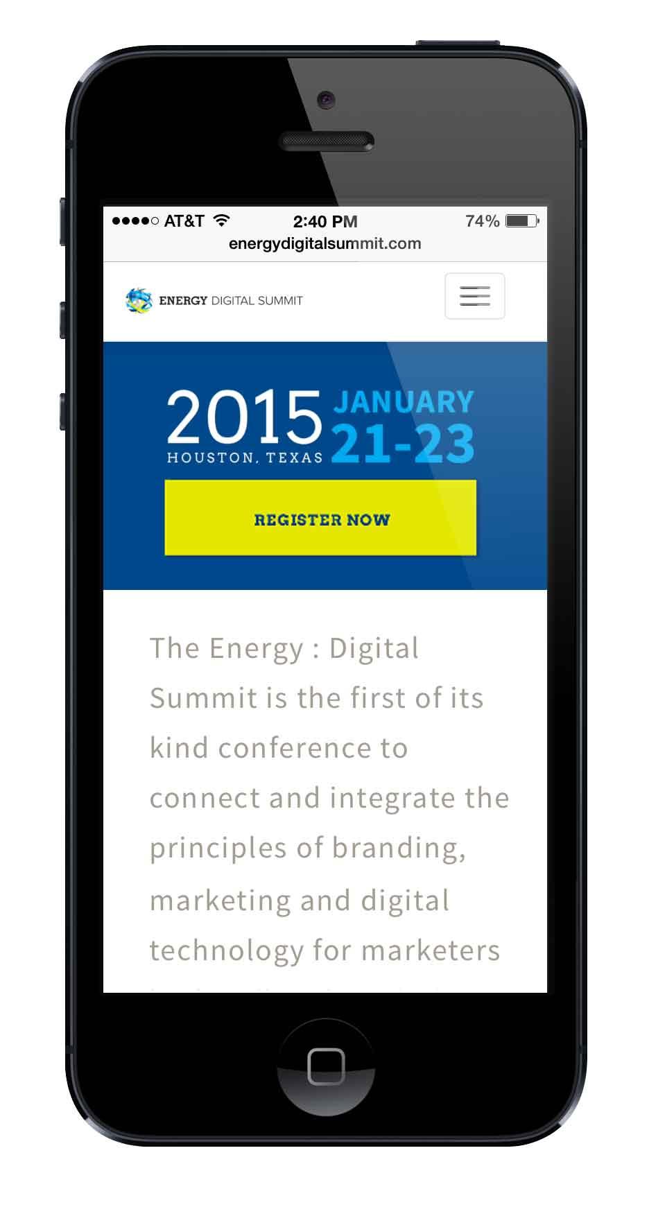 Energy Digital Summit mobile