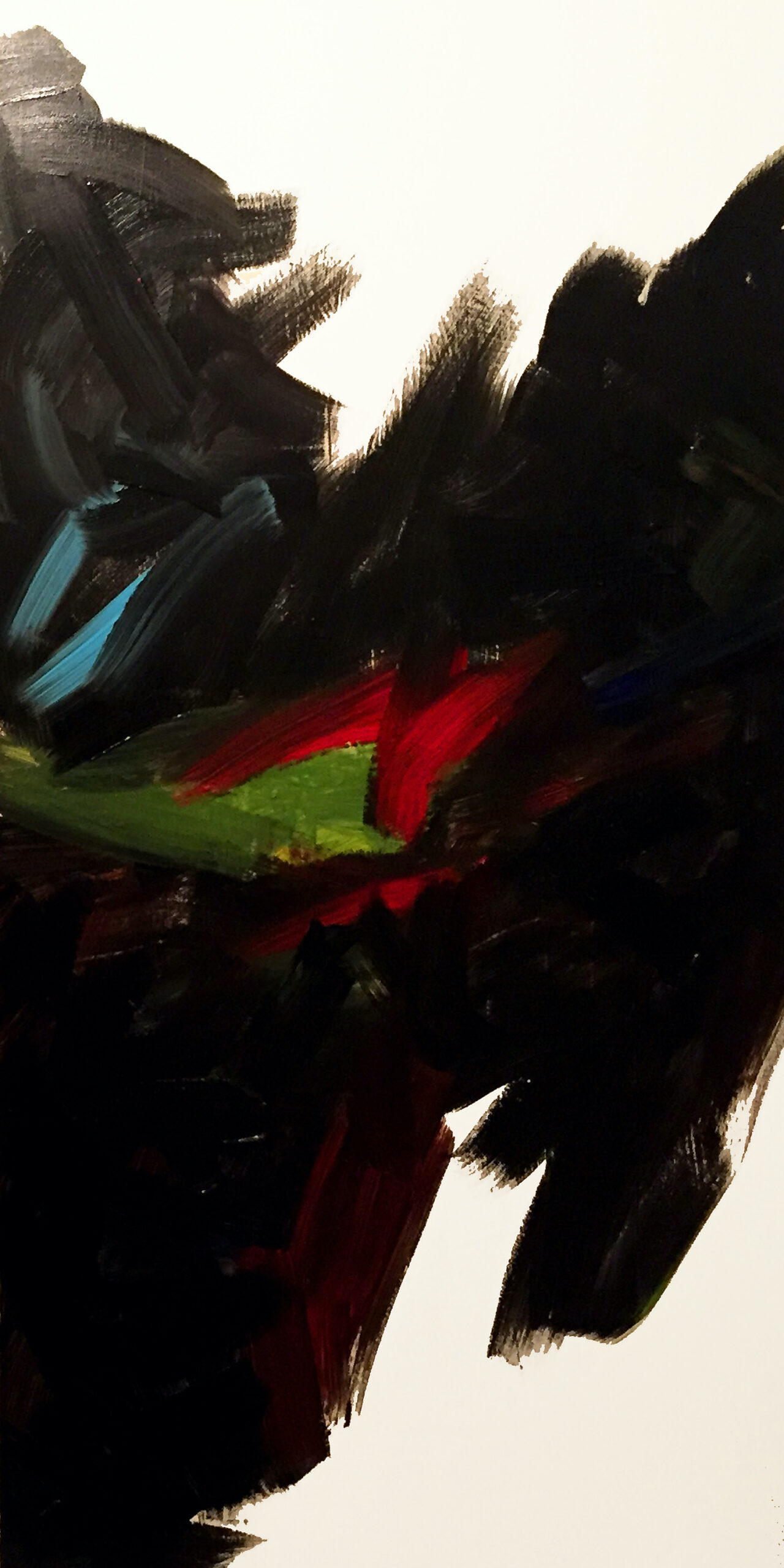 MB acrylic painting B